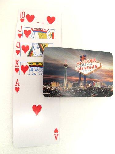 Las Vegas Deck Playing Cards Sign & Strip Souvenir