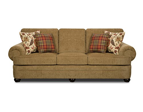 Simmons Upholstery Thunder Sofa, Topaz