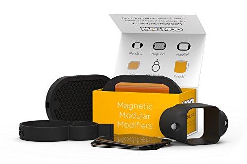 ハニカムグリッド & フィルター 全く新しいフラッシュアクセサリー MAGMOD マグモッド スターターキットの商品画像