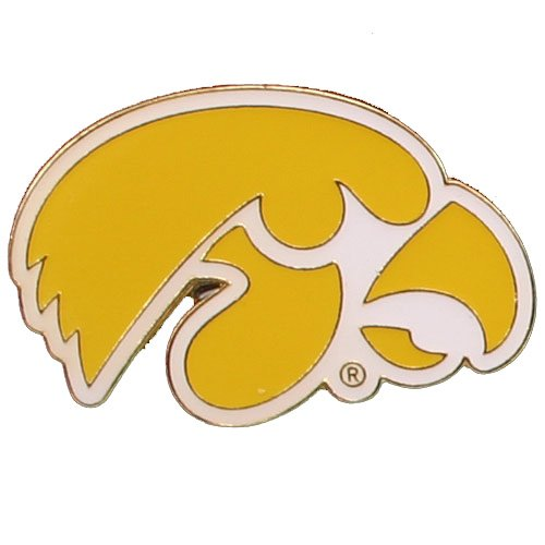(NCAA Iowa Hawkeyes Logo Pin)
