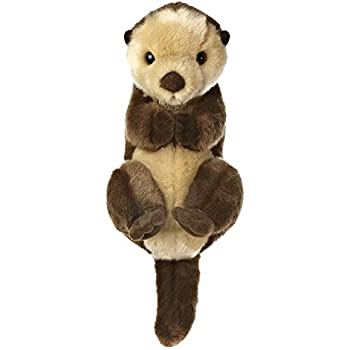 Amazon Com Miyoni Sea Otter Plush Stuffed Animal By Aurora World