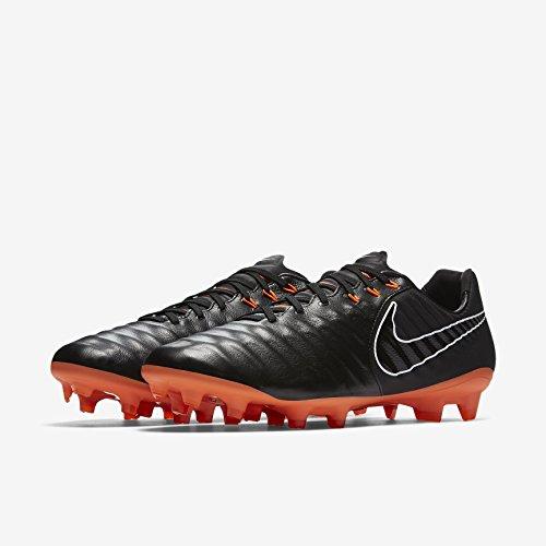 Legend 7 Pro (FG) Football Boots - Black/Orange
