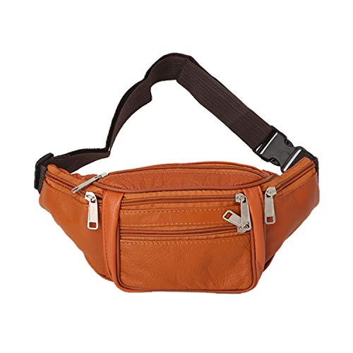 - Roselv Fanny Pack - Running Exercise Belt Waist Fanny Pack Belt Bag Pouch Travel Hip Purse Men Women Waist Bag Orange