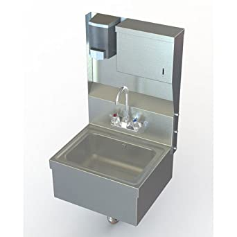 Nsf Wall Mount Utility Hand Sink With Stainless Steel