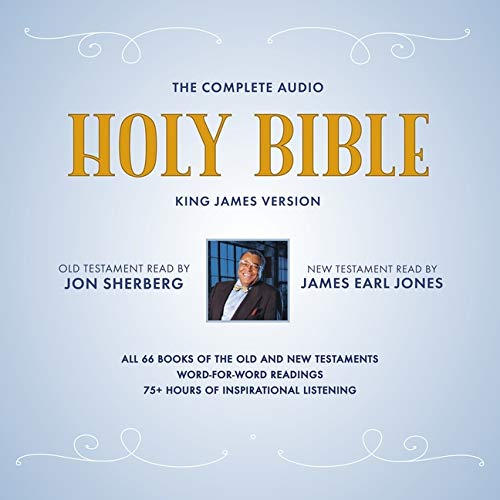 Book cover from The Complete Audio Holy Bible: King James Version: The New Testament as Read by James Earl Jones; The Old Testament as Read by Jon Sherberg by James Earl jones and Jon Sherberg