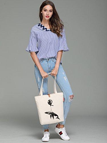 Borsa Shopping Tote In Ecopelle Per Donna