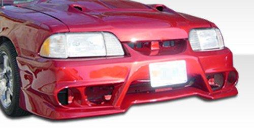 1987-1993 Ford Mustang Duraflex GTX Kit - Includes GTX Front Bumper (100743), GTX Rear Bumper (100744), and GTX Sideskirts (100745). - Duraflex Body Kits ()