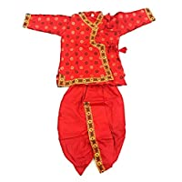 Anchal Collection Dhoti Kurta for Kids 100% Cotton 1-4 Years Boys Summer Dress