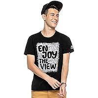 Camiseta Manga Curta Juvenil Menino Preto - Elian Beats