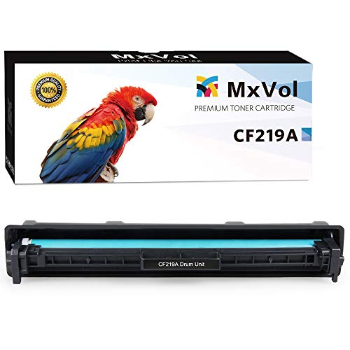 MxVol Compatible HP 19A CF219A Drum Unit, Yields Up to 12,000 Pages use for HP Laserjet Pro M102w M130fw M130nw M130fn M102 M130 Printer, 1-Pack (Hp 19a Original Laserjet Imaging Drum Cf219a)