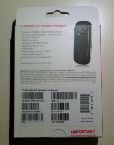 T-Mobile 4G Mobile HotSpot by ZTE (Image #3)