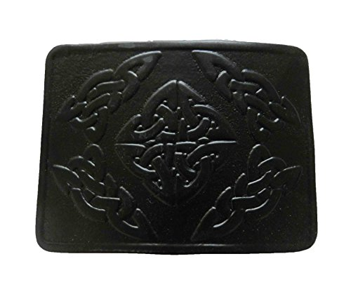UTK Scottish Kilt Black Powder Coated Belt Buckle (Black 3)