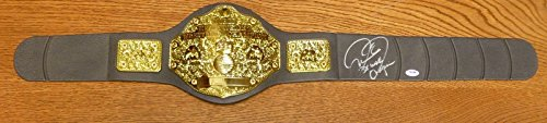Mick Foley Mankind Signed WWE Championship Belt COA Auto