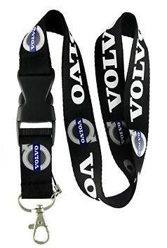 Amazon.com: Volvo Lanyard Llavero titular con hebilla Snap ...