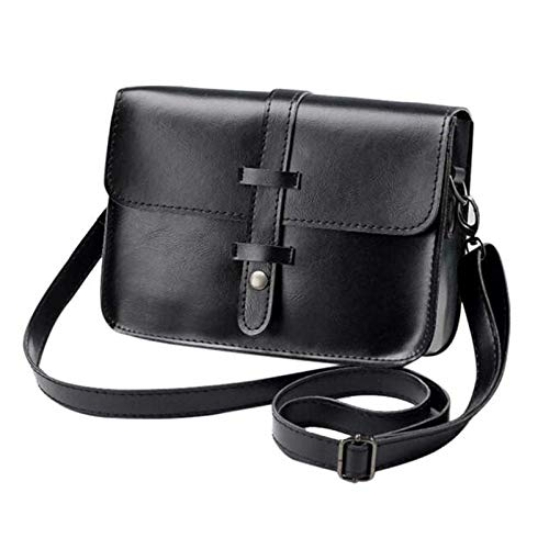 6ad0b4a434 Amazon.com  2018 Luxury Handbags Women Messenger Bags Designer Leather Shoulder  Bag for Girls Women s Rivet Purse Female bolsas  Kitchen   Dining