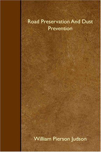 Download Road Preservation And Dust Prevention PDF