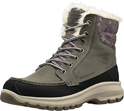 Helly Hansen Men's Garibaldi V3 Snow Boot, Tobacco Brown/Espresso/Natura, 8 D(M) US