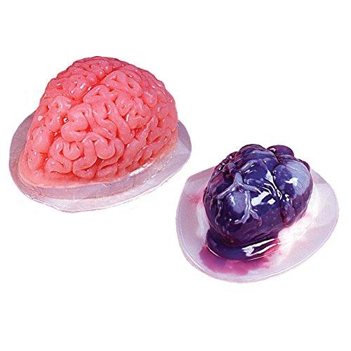 Gruseliges Gehirn & Herz Puddingform Set HEART & BRAIN