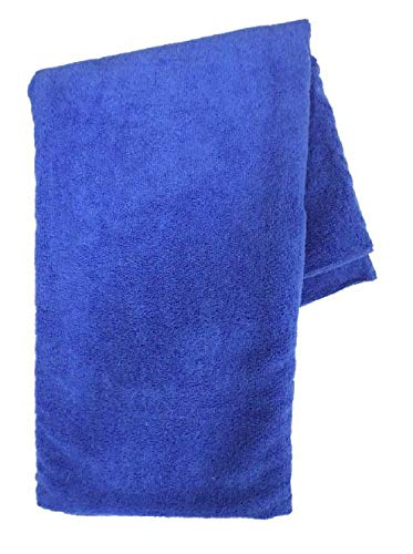 PAMEX - Toalla de Microfibra Sport Colores (50x100cm, Azul)