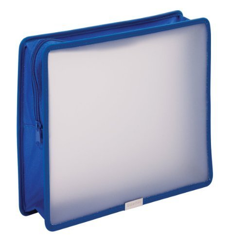 Tops Globe-Weis Zip Wallet Poly Files, 3-Inch Expansion, ...