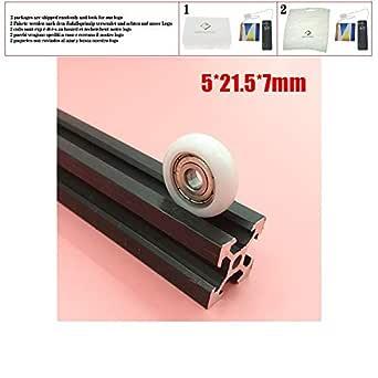 Delrin R - Rueda de nailon para impresora 3D (21,5 x 5 x 7 mm, 5 x ...