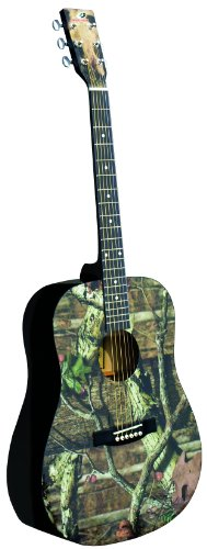 INDIANA Graphic Top MO-1 Acoustic Guitar - Mossy Oak Infinity Camouflage