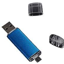 Large Capacity 2TB 1TB 512GB OTG Dual Micro USB Flash Pen Drive Memory Stick2.0 U Disk For Computer/Phone