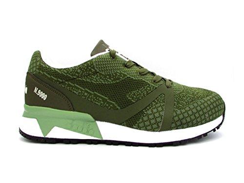 Diadora N9000 mm Evo Sneakers Verde Bianco 172310-C6283 (44 - Verde)