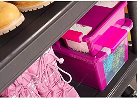 40 L Caja de Almacenamiento Kis 8454000 0117 01 Verde//Transparente Bi Box