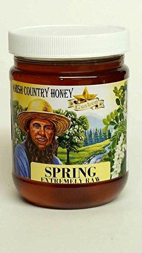 Goshen Honey Amish Extremely Raw SPRING Honey 100% Natural Organic Honey Health Benefits Unfiltered OU