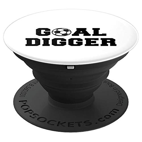 - Goal Digger Soccer Jock PopSockets Grip and Stand for Phones and Tablets