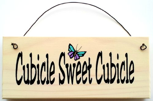 Cubicle Sweet butterfly decoration Office product image