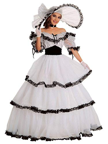 - Black & White Southern Belle Costume for Women