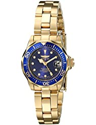 Invicta Womens 17036 Pro Diver Analog Display Japanese Quartz Gold Watch