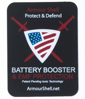 Radiation Protection, Cell Phone EMF Shield, Electromagnetic Shielding Blocker & Battery Booster Patch, Best Mobile Phone EMR Protectors While Giving You A Charger Boost. Protect & Defend Your Family! (Anti Radiation Patch compare prices)