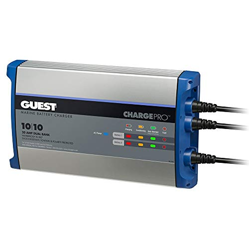 Guest On-Board Battery Charger 20a / 12v - 2 Bank - 120v Input -