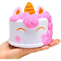 Unicorn Squishy Cake Bread smile Squishies Slow Rising Squeeze Toys for Children Release Stress Christmas Toys