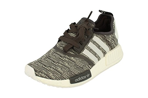 adidas Originals NMD_R1 Womens Running Trainers Sneakers Utility Black F16/Ftwr White/Mgh Solid Grey By3035