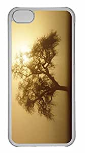 iPhone 5C Case, Personalized Custom Early Morning Fog 2 for iPhone 5C PC Clear Case
