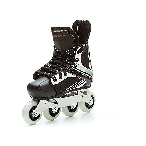 Bladerunner by Rollerblade Dynamo Jr Size Adjustable Hockey Inline Skate, Black and Red, Inline Skates by Bladerunner (Image #9)