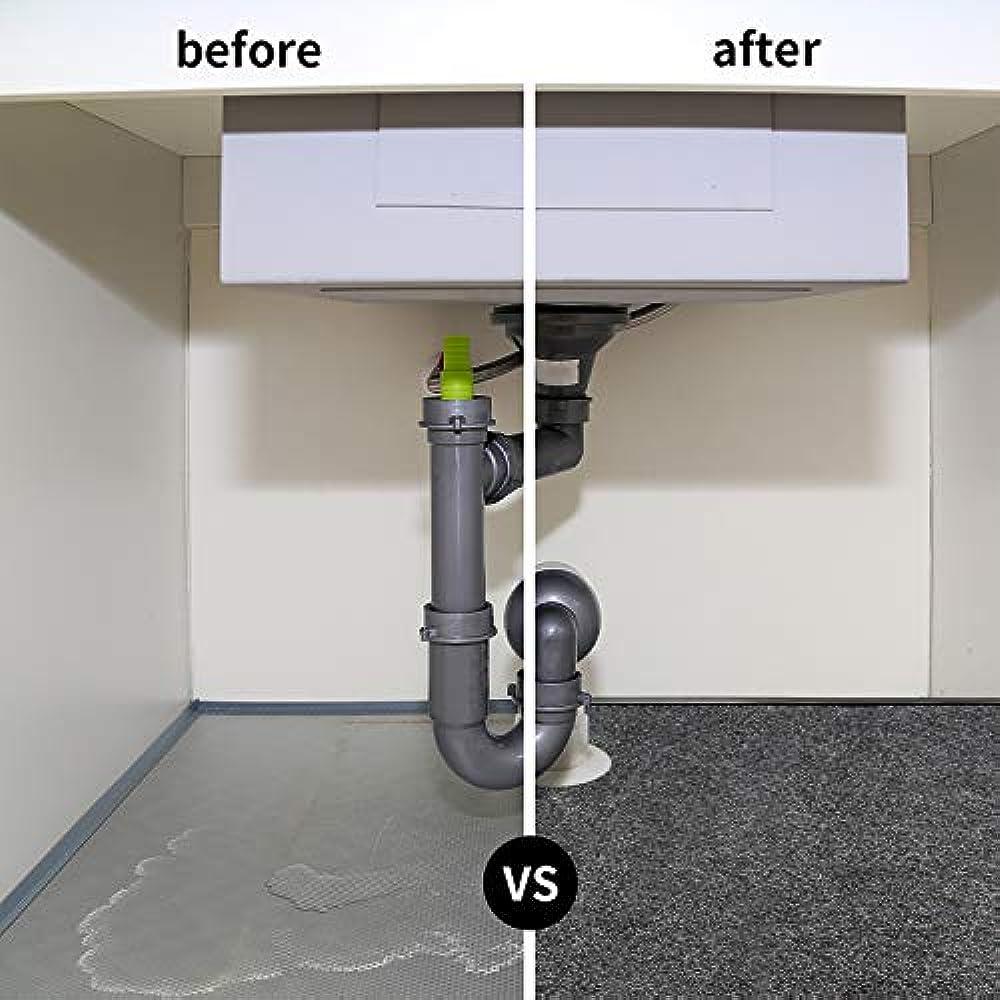 Under Sink Mat Kitchen Cabinet Liner, Fits 24'' X 36 ...