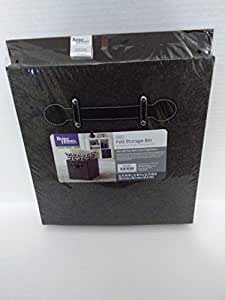 Better Homes And Gardens Gray Felt Collapsible