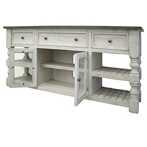 Crafters and Weavers Stonegate TV Stand - 70