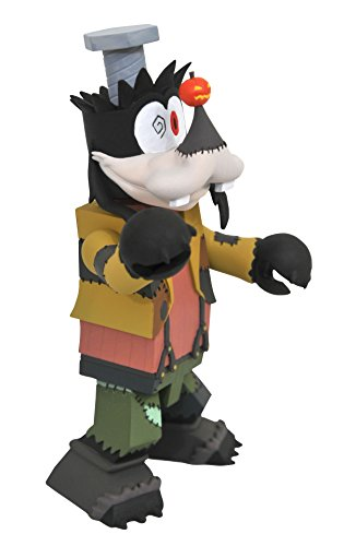 DIAMOND SELECT TOYS Kingdom Hearts: Halloween Town Goofy Vinimate Vinyl Figure]()