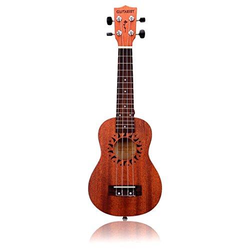 Han Shi Ukulele, 21 Inch 15 Frets Musical Instrument Hawaiian Guitar (Guitar Grimoire Rhythm)