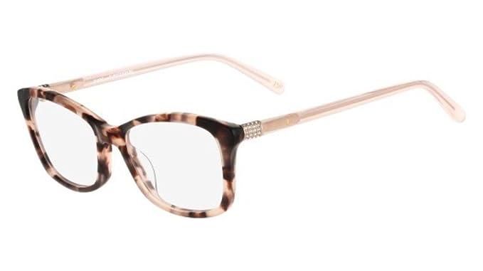 Eyeglasses Diane von Furstenberg DVF 5071 633 MILKY BLUSH TORTOISE ...