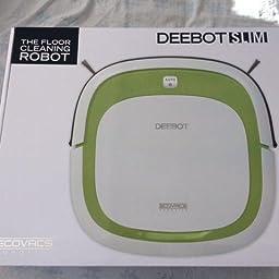 ECOVACS ROBOTICS DEEBOT SLIM DA60 - Robot Limpia Suelos, Verde ...
