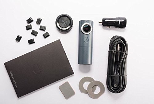 GOLUK T3 in STONE GREY full HD car dash cam + Hard Wire Kit + 16 Gb SD Card Super Bundle by Goluk (Image #1)
