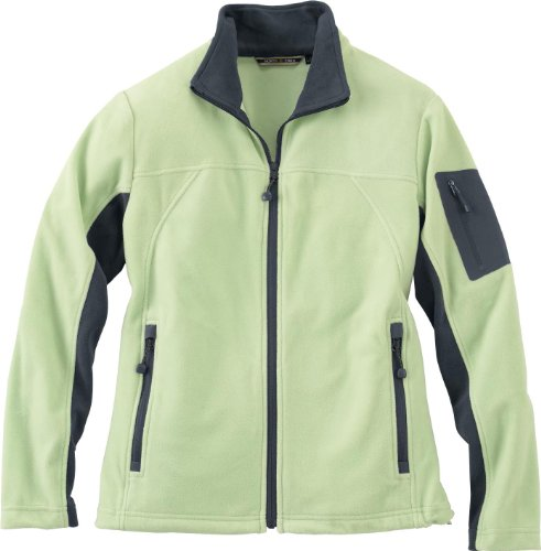 Ladies Front Coil Full-Zip Anti-Pill Microfleece Jacket, Lime Shrbrt, X-Large