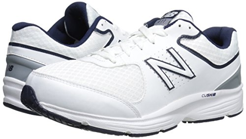 Mw411wb2 White New Shoe 2e Balance Men's 43 Walking Eu blue vqwBExP1B
